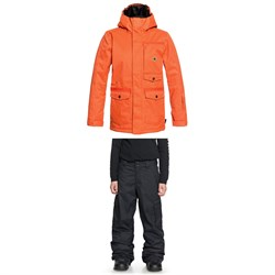 DC Servo Jacket - Boys' ​+ DC Banshee Pants - Boys'