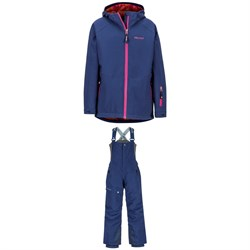 Marmot Refuge Jacket - Girls' ​+ Marmot Rosco Bibs - Kids'