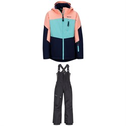 Marmot Elise Jacket - Girls' ​+ Marmot Rosco Bibs - Kids'
