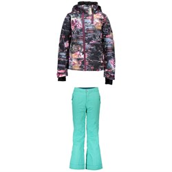 Obermeyer Taja Print Jacket ​+ Obermeyer Brooke Pants - Big Girls'