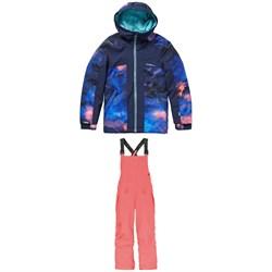 O'Neill Allure Jacket - Girls' + O'Neill Bib Pants - Kids'