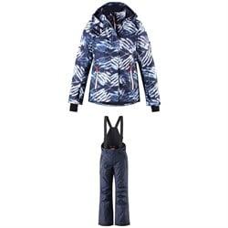 Reima Frost Jacket - Girls' + Reima Terrie Pants - Kids'
