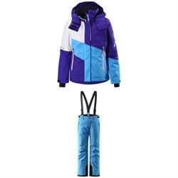 Reima Seal Jacket - Girls' + Reima Takeoff Pants - Kids'