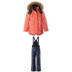 Reima Sisarus Jacket - Girls' + Reima Terrie Pants - Kids'