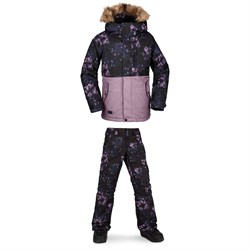 Volcom So Minty Insulated Jacket ​+ Silver Pine Insulated Pants - Girls'