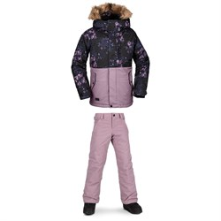 Volcom So Minty Insulated Jacket ​+ Frochickadee Insulated Pants - Girls'