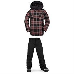 Volcom Neolithic Insulated Jacket ​+ Freakin Snow Chino - Boys'