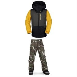 Volcom Vernon Insulated Jacket ​+ Freakin Snow Chino - Boys'