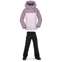 Volcom Sass'N'Fras Insulated Jacket ​+ Frochickadee Insulated Pants - Girls'