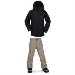 Volcom L GORE-TEX Jacket + Cargo GORE-TEX Pants - Kids'