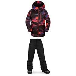 Volcom Holbeck Insulated Jacket + Freakin Snow Chino - Boys'