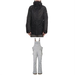 686 Jett Insulated Jacket ​+ Black Magic Insulated Bibs - Women's