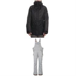 686 Jett Insulated Jacket + Black Magic Insulated Bibs - Women's