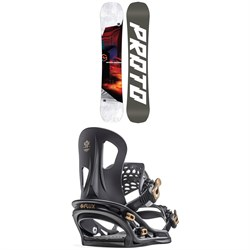 Never Summer Proto Type Two X Snowboard ​+ Flux TT Snowboard Bindings 2020