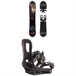 Never Summer West Bound Snowboard ​+ Burton Cartel Snowboard Bindings 2020