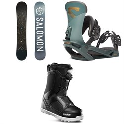 Salomon Sight X Snowboard ​+ Salomon Trigger X Snowboard Bindings ​+ thirtytwo STW Boa Snowboard Boots