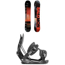 Salomon Pulse Snowboard ​+ Flow Alpha Snowboard Bindings