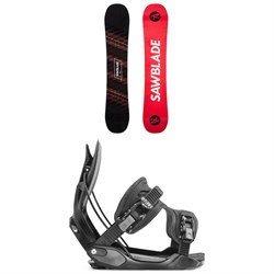 Rossignol Sawblade Snowboard + Flow Alpha Snowboard Bindings 2020