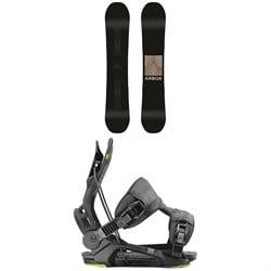 Arbor Formula Rocker Snowboard + Flow Fenix Snowboard Bindings 2020