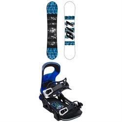 Lib Tech Skate Banana BTX Snowboard + Bent Metal Logic Snowboard Bindings