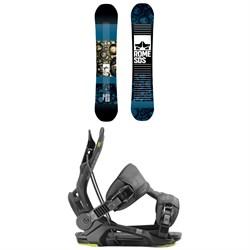 Rome Reverb Rocker SE Snowboard 2019 + Flow Fenix Snowboard Bindings