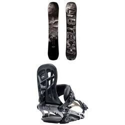 Lib Tech Box Knife C3 Snowboard + Rome 390 Boss Snowboard Bindings