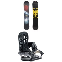 Never Summer Snowtrooper X Snowboard + Rome 390 Boss Snowboard Bindings