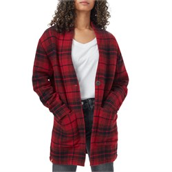 Tentree Flannel Cocoon Cardigan Top - Women's