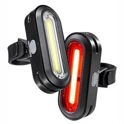 Kryptonite Avenue F-100 & R-50 COB Bike Light Set