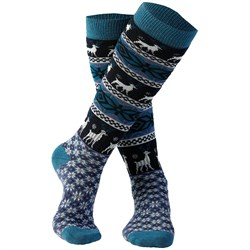 Rojo Outerwear Nordic Snowflake Socks - Girls'
