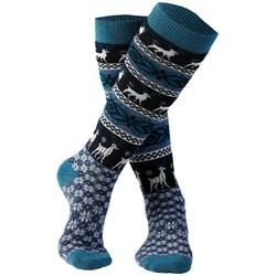 Rojo Outerwear Nordic Snowflake Socks - Girls'
