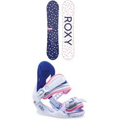 Roxy Poppy Snowboard Package  - Girls' 2021