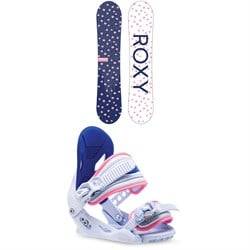 Roxy Poppy Snowboard Package  - Girls' 2021
