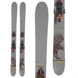 Line Skis Outline Skis + Marker Kingpin 13 Alpine Touring Bindings  - Used