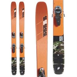 K2 Mindbender 116 C Skis + Look Pivot 14 GW Bindings 2020 - Used