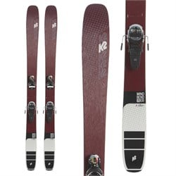 K2 Mindbender 106 C Alliance Skis ​+ Look Pivot 12 GW Bindings - Women's 2020 - Used
