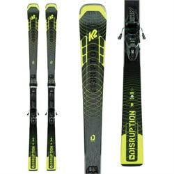 K2 Disruption SC Alliance Skis ​+ ER3 10 Compact Quikclik Bindings - Women's 2021