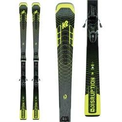 K2 Disruption SC Alliance Skis + ER3 10 Compact Quikclik Bindings - Women's 2022