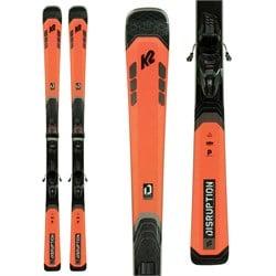 K2 Disruption 78C Skis + M3 10 Compact Quikclik Bindings 2022