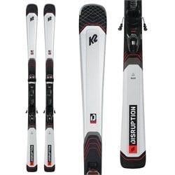 K2 Disruption 76X Skis + M3 10 Compact Quikclik Bindings 2022