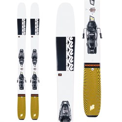 K2 Mindbender Jr Skis ​+ FDT 4.5 Bindings - Boys' 2021
