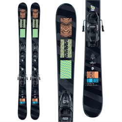 K2 Dreamweaver Skis ​+ FDT 7.0 Bindings - Girls' 2021