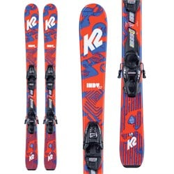 K2 Indy Skis ​+ FDT 7.0 Bindings - Boys' 2021