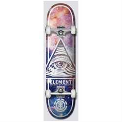 Element Eye Trippin Cosmos 8.0 Skateboard Complete