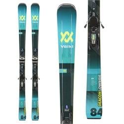 Volkl Deacon 84 Skis + LR XL 13 FR D GW Bindings  - Used