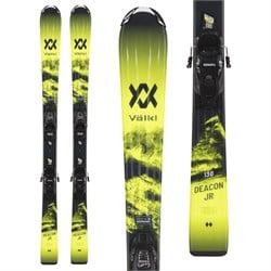 Volkl Deacon Junior Skis + 4.5 vMotion Jr Bindings - Little Boys' 2022