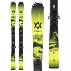 Volkl Deacon Junior Skis + 7.0 vMotion Bindings - Boys' 2021