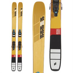 K2 Mindbender 108Ti Skis ​+ Salomon S​/Lab Shift MNC Alpine Touring Bindings  - Used