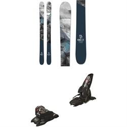Icelantic Nomad Lite Skis + Marker Jester 16 ID Bindings  - Used