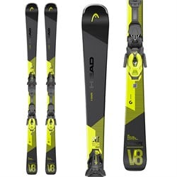 Head V-Shape V8 Skis ​+ PR 12 GW Bindings 2021